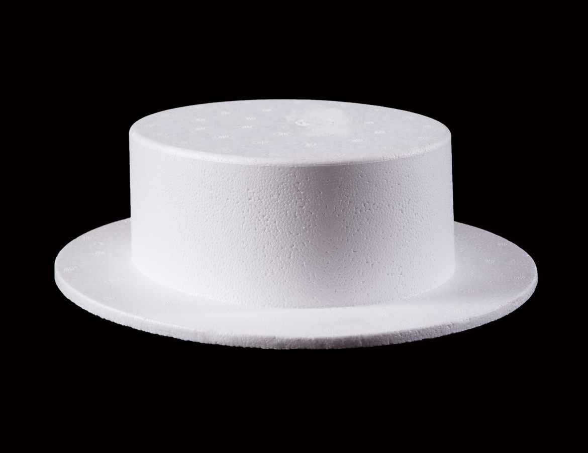 Cheese Cutter Polystyrene Hat