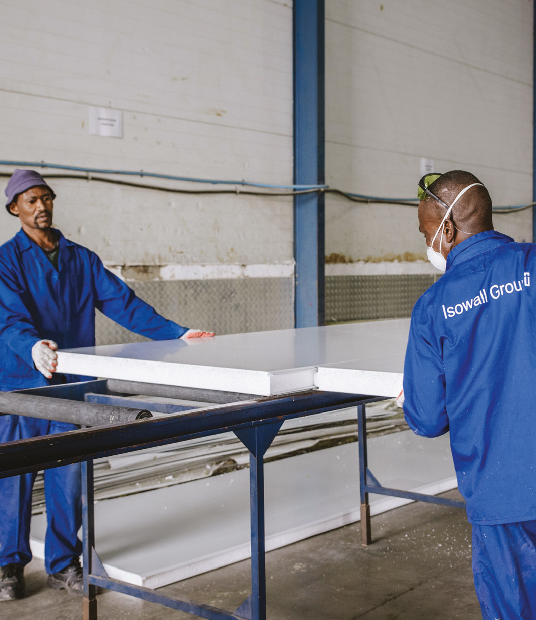 Sandwich Panels | Isowall Group | South Africa